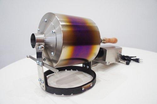 【カラーチャート付、倶楽部カード】京都 YOSANO ROASTER 電動  チタンドラム HRM600-Ti