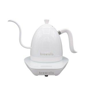 Brewista ブリューイスタ アルティザングースネックバリアブルケトル0.6L ピュアホワイト BV382606VP-PURE WHITE