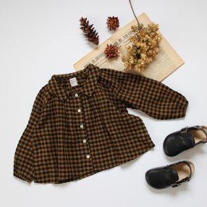 <img class='new_mark_img1' src='https://img.shop-pro.jp/img/new/icons20.gif' style='border:none;display:inline;margin:0px;padding:0px;width:auto;' />【20%off】 autumn gingham check blouse
