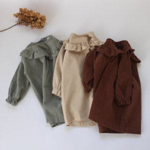 <img class='new_mark_img1' src='https://img.shop-pro.jp/img/new/icons20.gif' style='border:none;display:inline;margin:0px;padding:0px;width:auto;' />【20%off】 corduroy frill one-piece