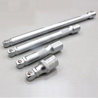 エクステンションバーセット(首振りエクステンションバー) オフセット式 3/8(9.5sq) 43mm 75mm 150mm 250mm