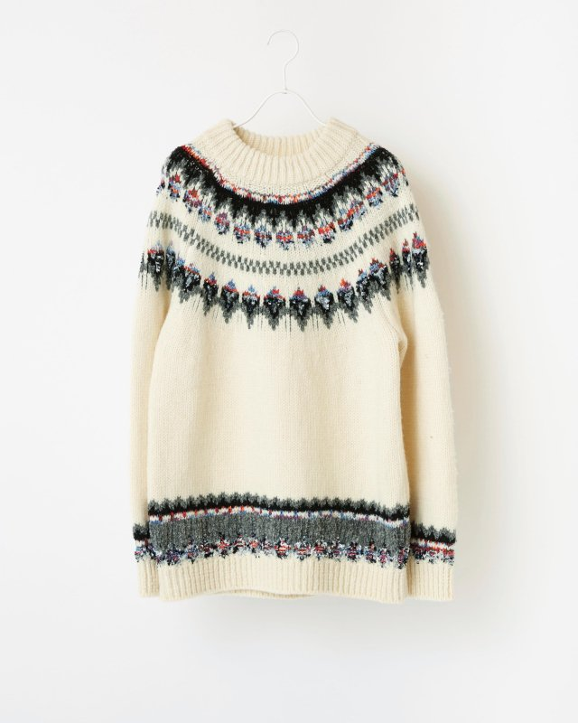 CANADIAN KNIT PULLOVER