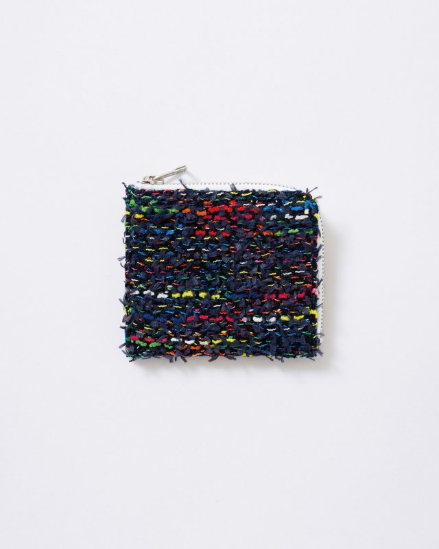 KNIT TWEED WALLET MEDIUM - COOHEM TWEED