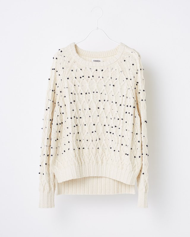 PON PON KNIT PULLOVER