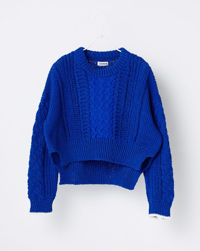 STRETCH CABLE KNIT