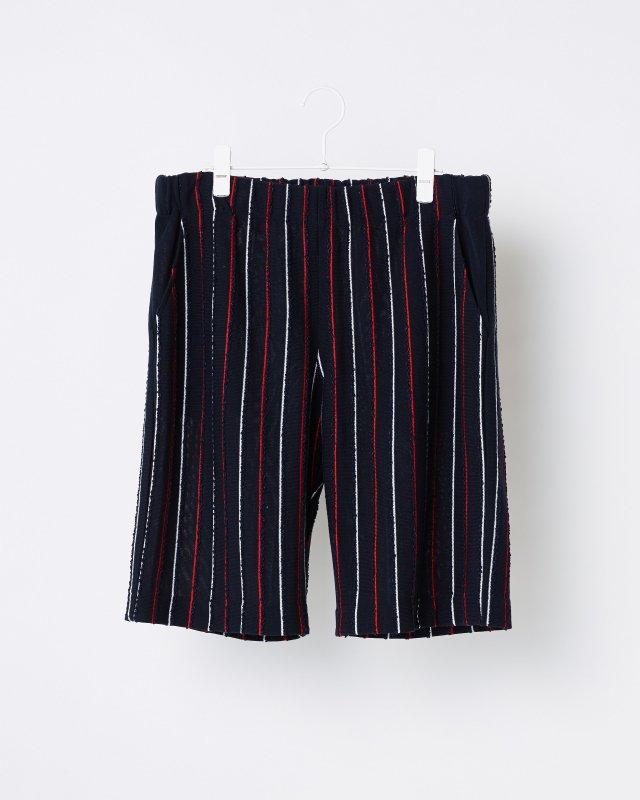 SUMMER STRIPE TWEED PANTS