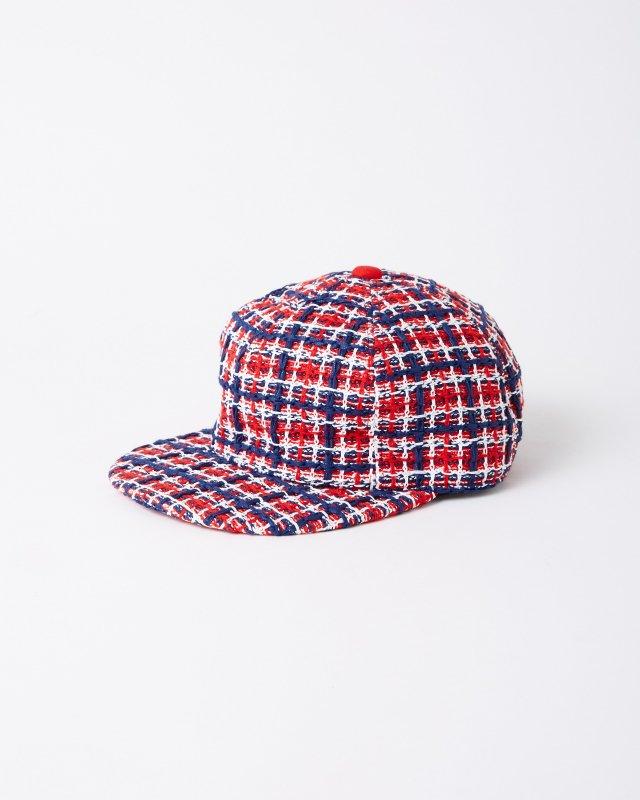 COOHEM×CA4LA SPRING TRICOLOR TWEED CAP