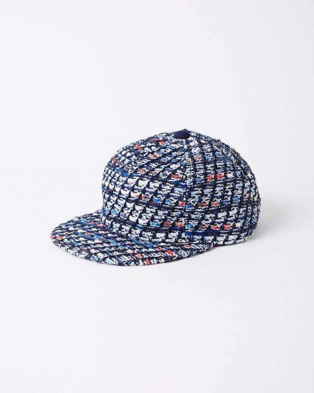 COOHEM×CA4LA BLAZER TWEED CAP