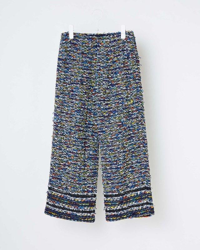 TROPICAL TWEED PANTS