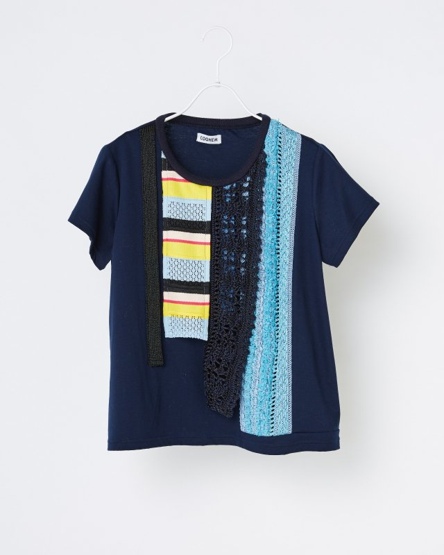TORICOT COUTURE STRIPE T-SHIRT