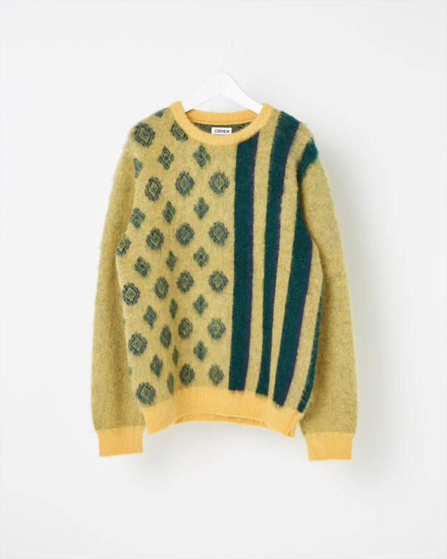 SHAGGY JACQUARD SWEATER