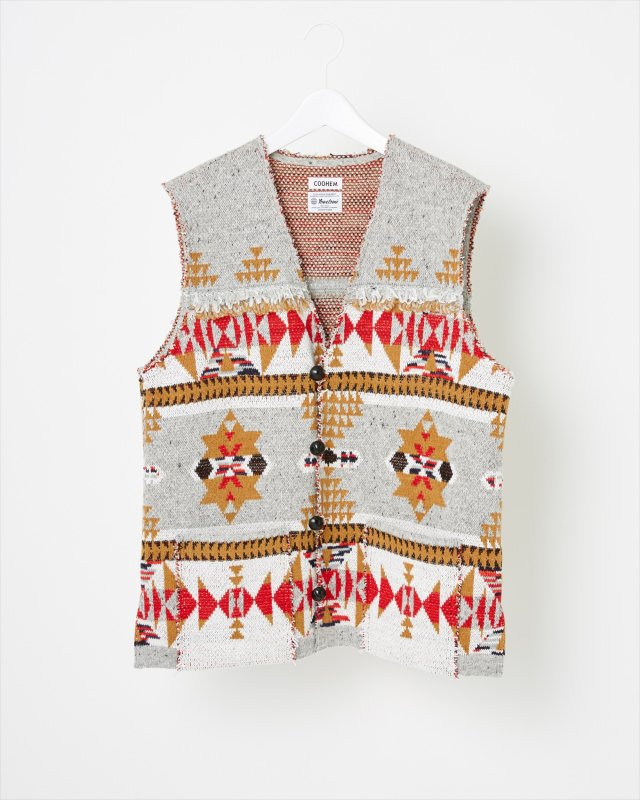 NATIVE JACQUARD VEST