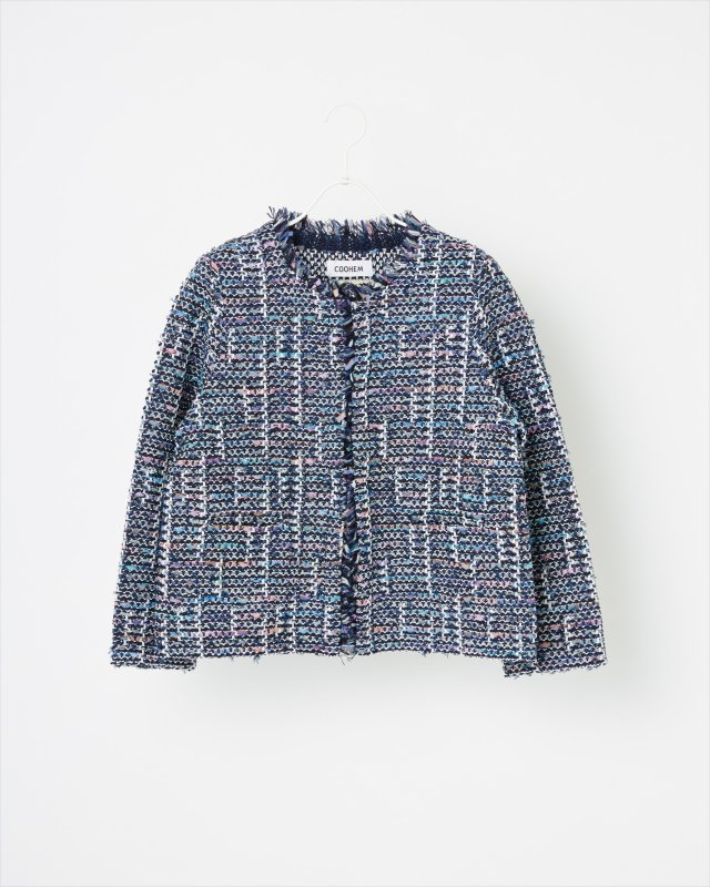 SPRING AIR TWEED JACKET