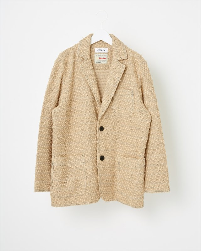 SOLID TWEED JACKET