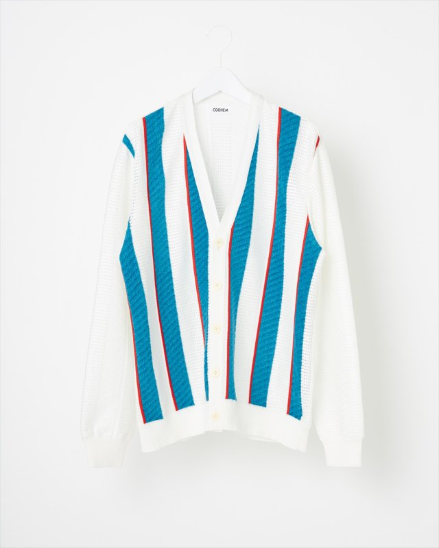 SUPER MESH KNIT CARDIGAN