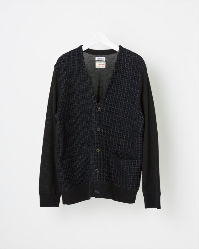 SPRING CHECK TWEED CARDIGAN
