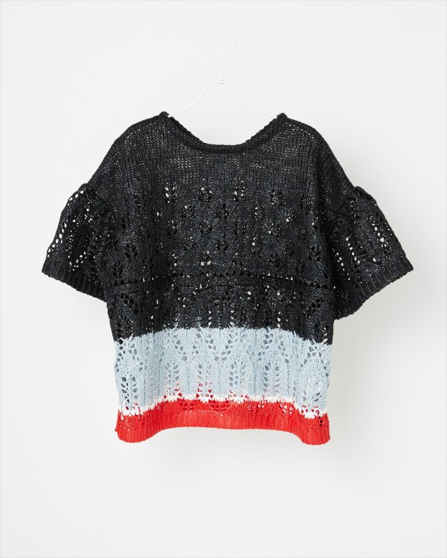 SUMMER LACY KNIT PULLOVER
