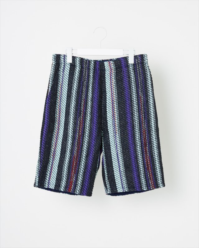 SUMMER STRIPE TWEED PANTS