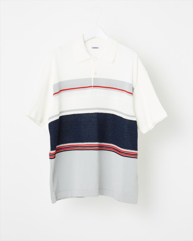 SPORTY SUMMER KNIT POLO-SHIRT
