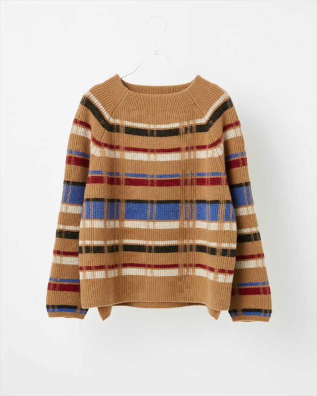 RETRO CHECK SWEATER