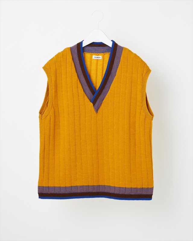 WOOL TECH KNIT VEST