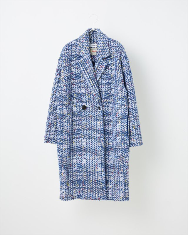 AUTUMN CHECK TWEED COAT