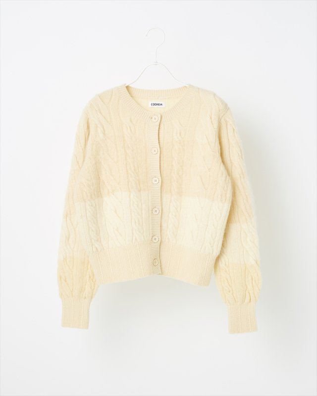 ANIMAL GRADATION CARDIGAN