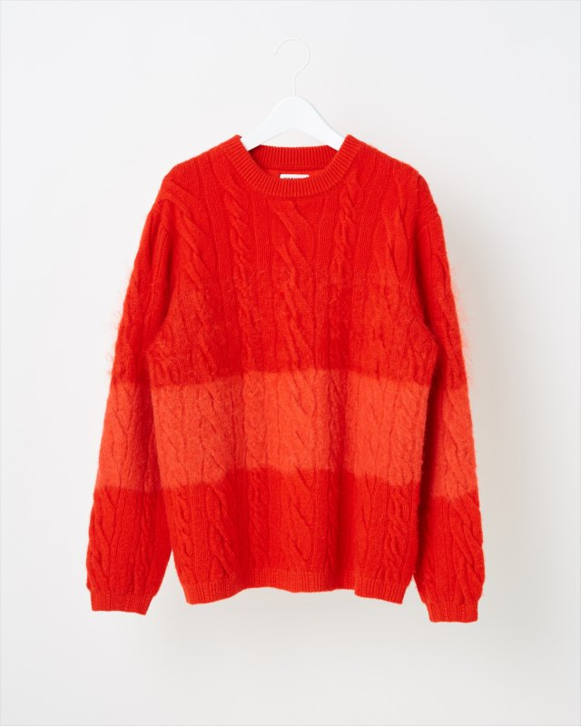 ANIMAL GRADATION SWEATER