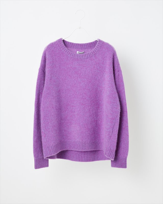 COLOR MIX CASHMERE SWEATER