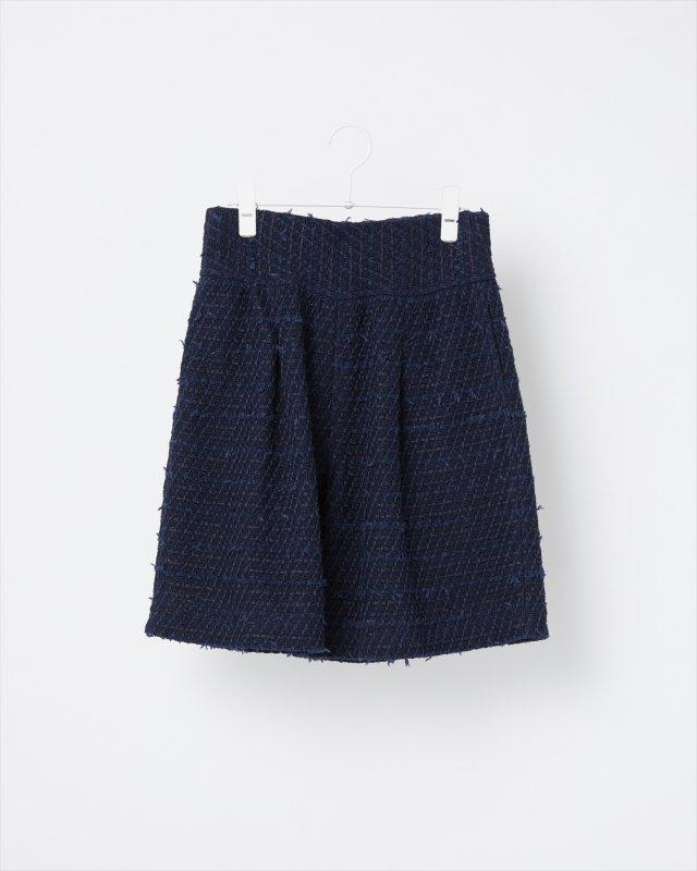 SEASONAL COLOR TWEED PANTS