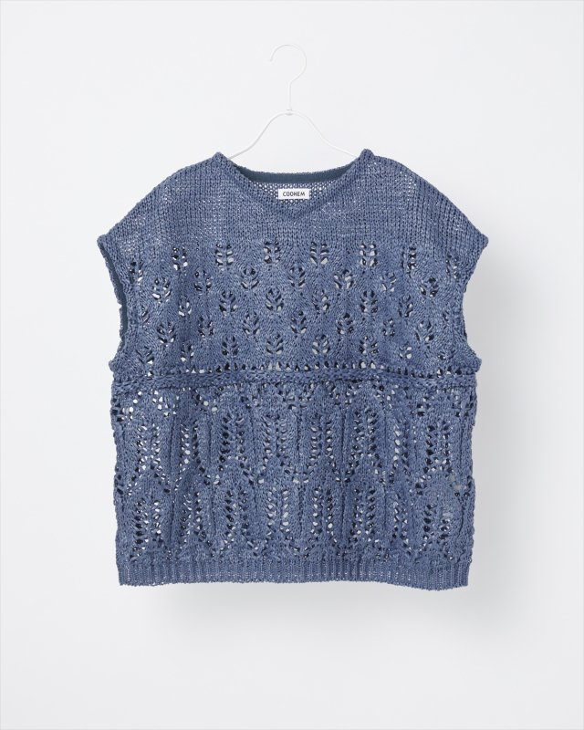 SUMMER LACE KNIT PULLOVER