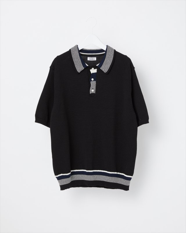 GOOD SUMMER KNIT POLO SHIRT