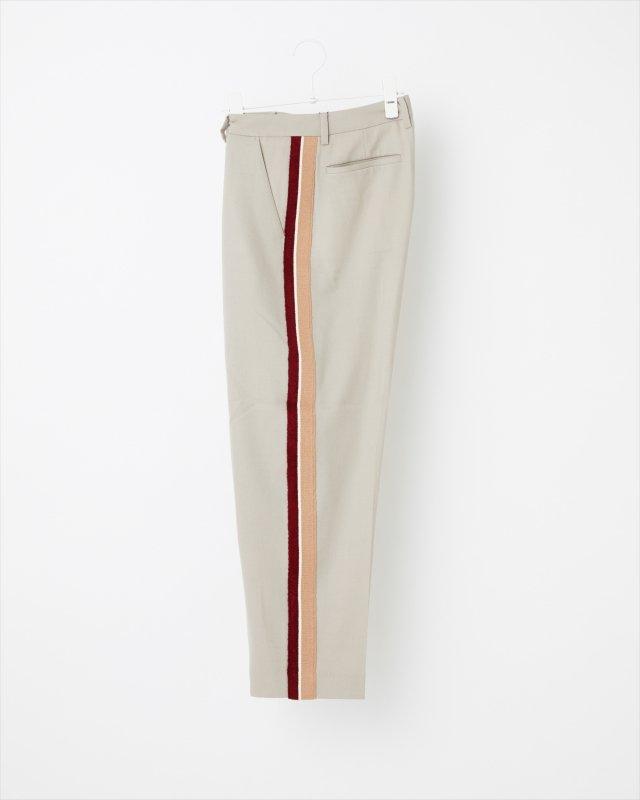 KNIT SIDELINE FLANNEL PANTS