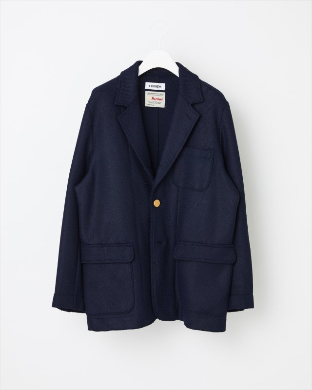 BLAZER TECH SOLID TWEED JACKET