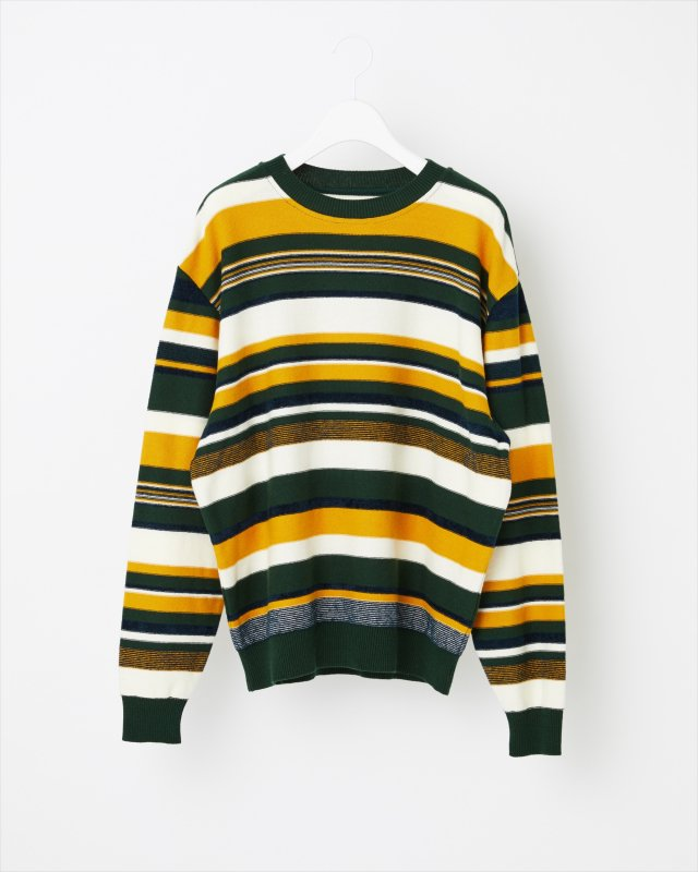 AUTUMN MULTI COLOR KNIT PULLOVER