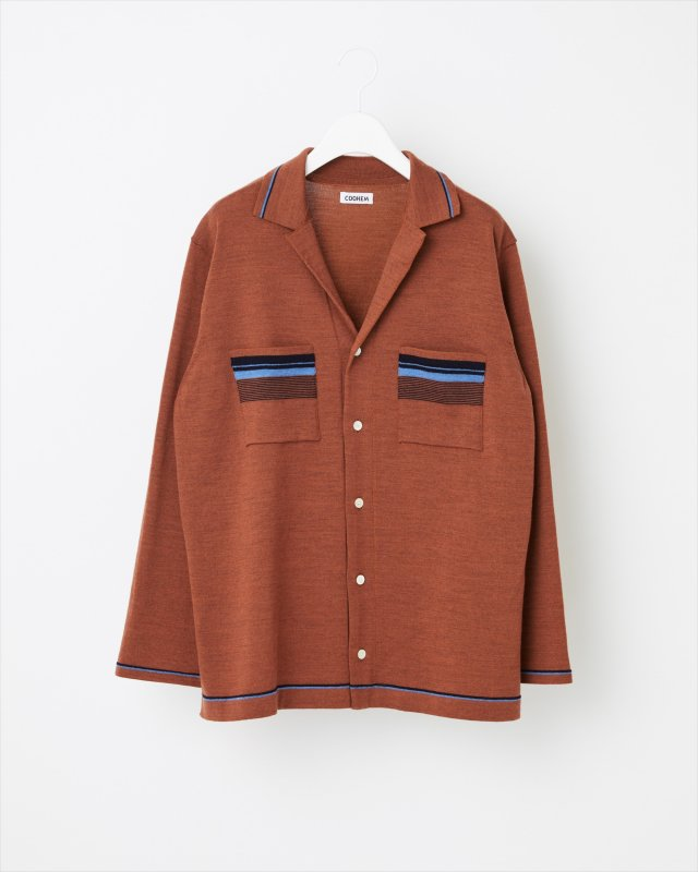 FINE WOOL TECH KNIT SHIRT