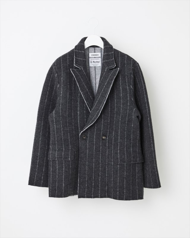 BOILED WOOL KNIT JACKET