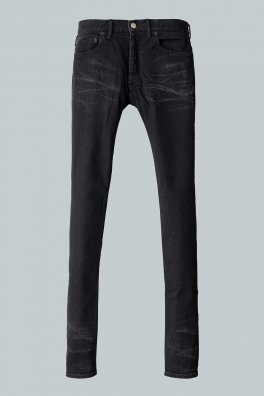 <img class='new_mark_img1' src='https://img.shop-pro.jp/img/new/icons8.gif' style='border:none;display:inline;margin:0px;padding:0px;width:auto;' />Fagassent BLACK Bio Stone Wash Black Stretch Denim