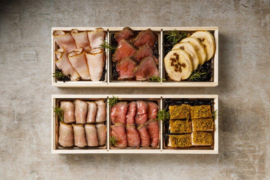 お肉づくしオードブルセット【3升×2箱】