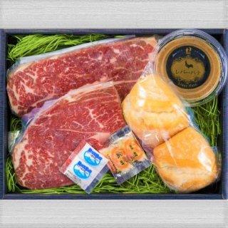 熟成肉ステーキ&レバパテセット