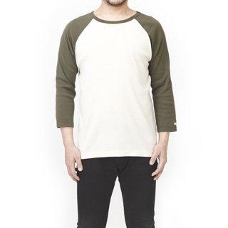 ビワコットン配色ラグランTシャツ