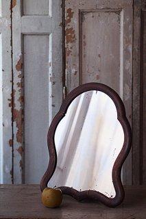 スタンドミラー 優しいライン-antique stand mirror