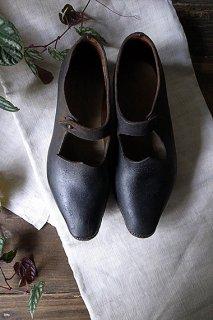 ビクトリア時代の革靴-vic' leather shoes