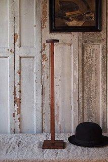 木製ハットスタンドと靴のディスプレイスタンド-wood hat stand & shoes stand