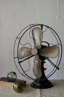四翼扇風機-vintage french electric fan