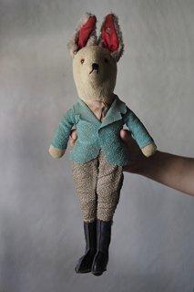 バロンドール、いざお供仕らん-antique fox toy