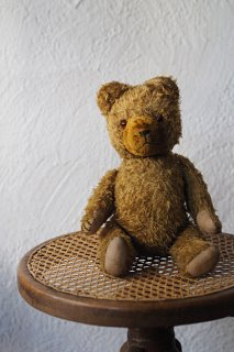くまちゃん、too loved!-antique teddy bear