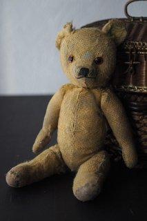 サヴァ?丸顔クマさん-antique teddy bear