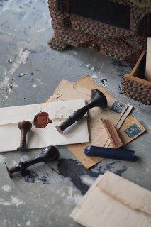 封蝋 シーリングスタンプ-antique sealing stamp