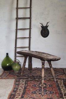 古参な智者-french antique cheese work stand
